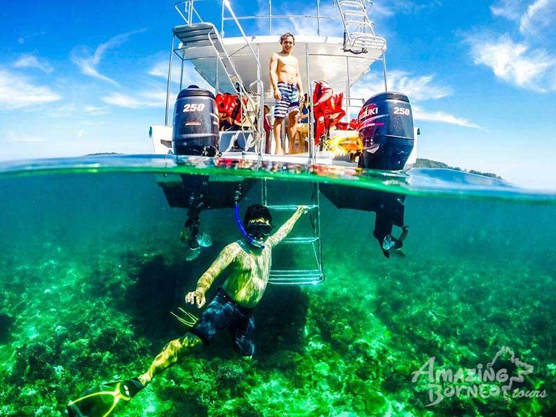 Seatango-snorkeling-island-boat-sabah