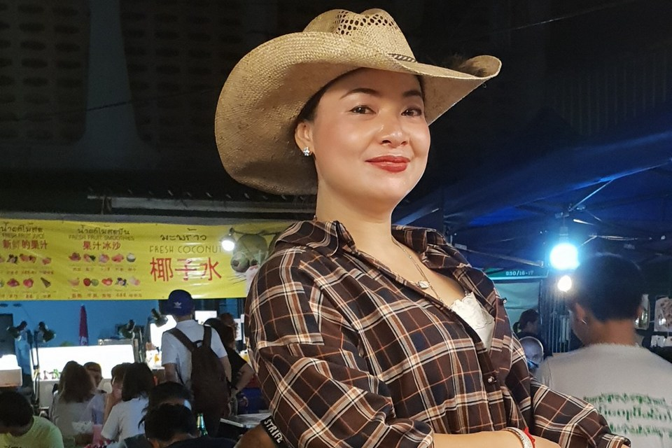 Cowboy Hat Lady at Khao Kha Moo