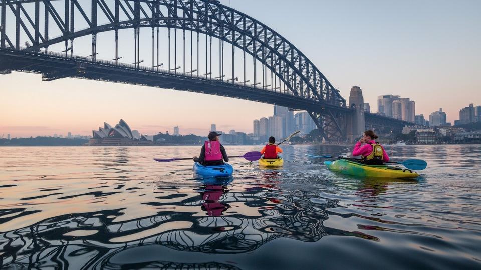 kayaking in sydney harbour, sydney blog, sydney travel guide blog, sydney travel guide, sydney australia travel blog