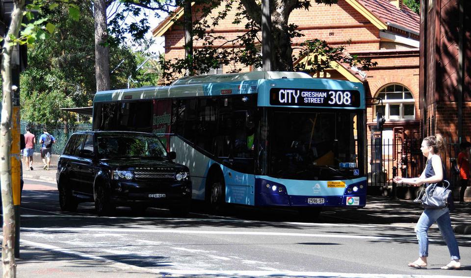 sydney bus Gresham