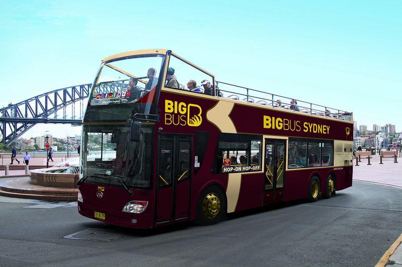 sydney hop on hop off bus tour