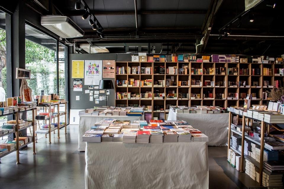 Bookstore at The Jam Factory, Bangkok, Thailand