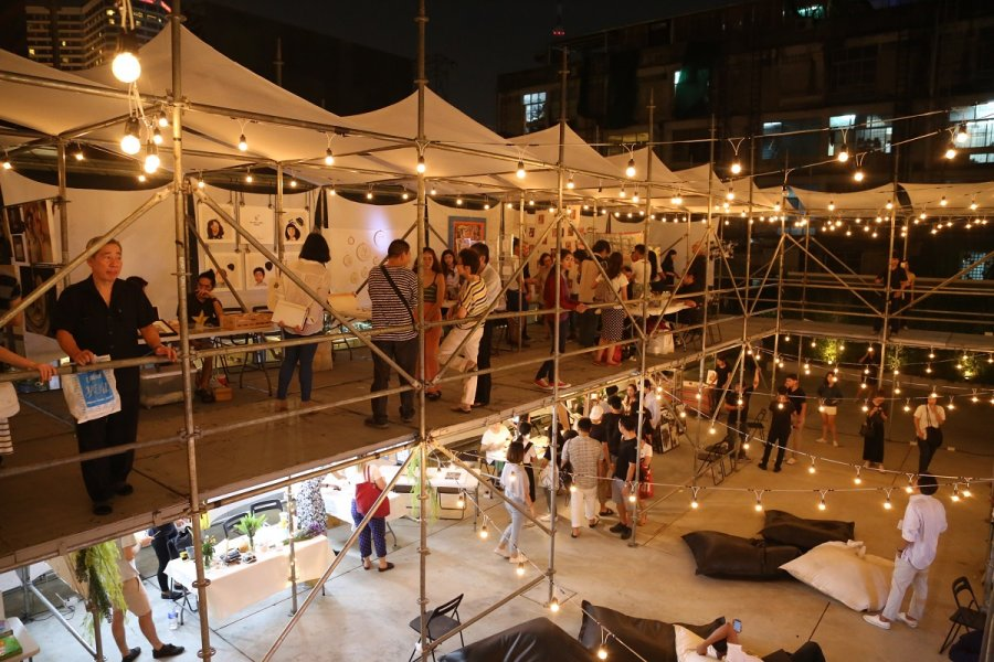 Art Ground at The Jam Factory, Bangkok, Thailand