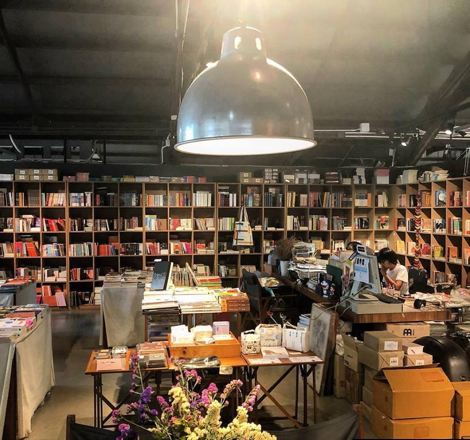 Bookstore at The Jam Factory, Bangkok, Thailand