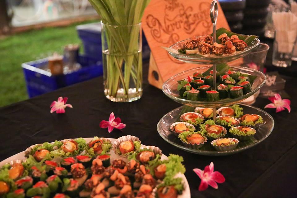 Food at The Jam Factory, Bangkok, Thailand