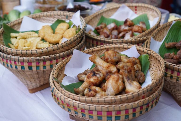 Local food at The Jam Factory, Bangkok, Thailand