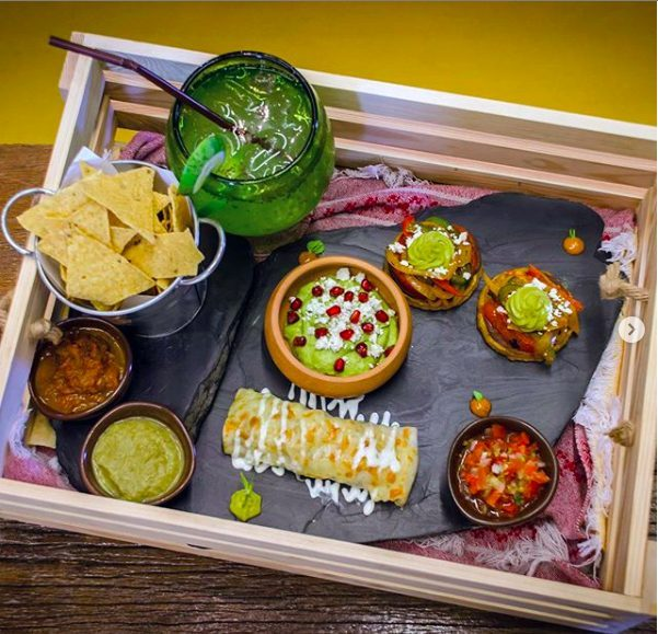 Mexican food at Barrio Bonito, The Commons, Bangkok, Thailand