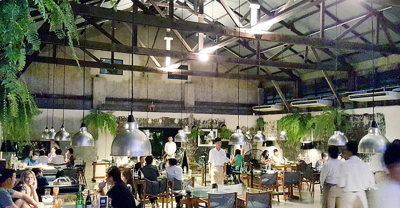 Never Ending Summer restaurant, The Jam Factory, Bangkok