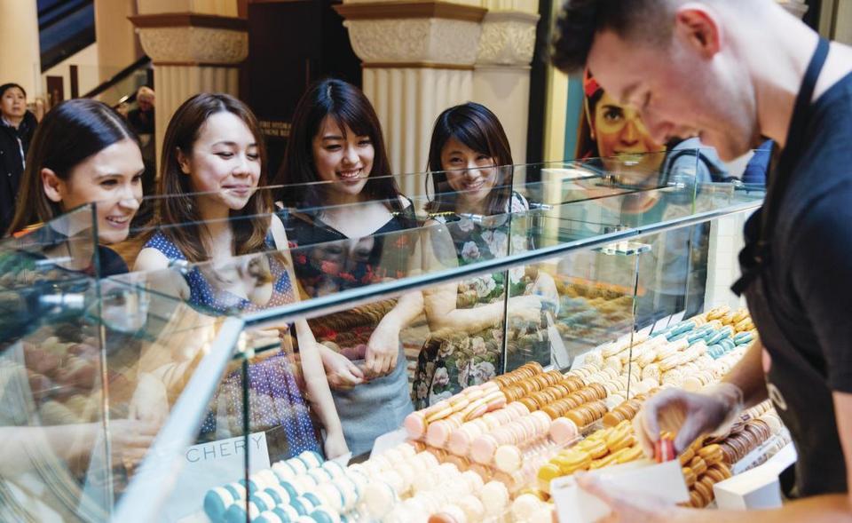 sydney snacks stall