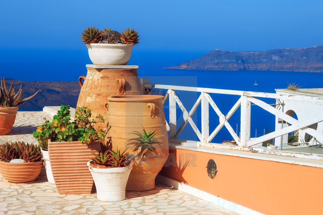 Architecture details from Fira village