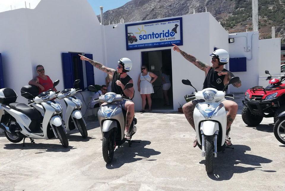 Motorbike rental