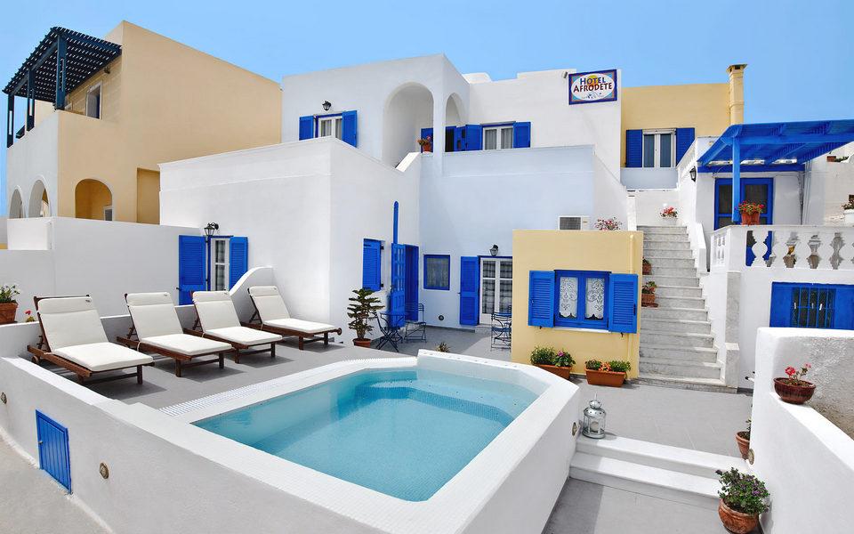 Santorini Hotel Afrodete Fira Hotel