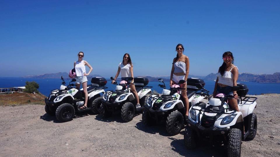 Motorbike rental in santorini.2