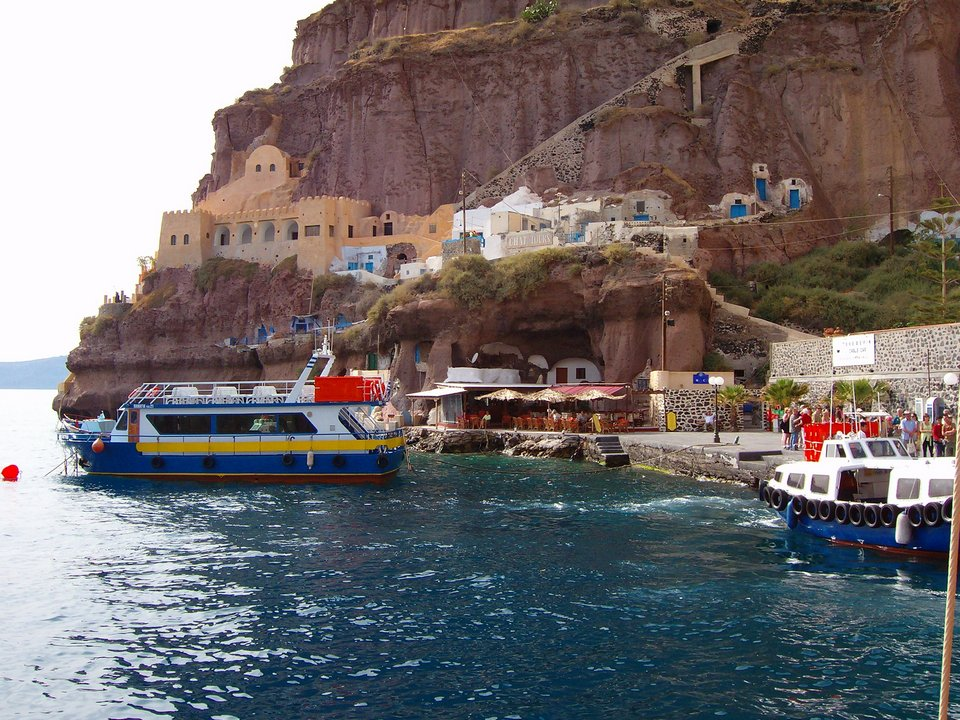 Old port of Fira