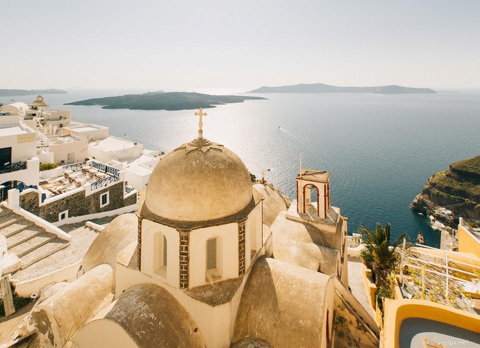 fira santorini greece