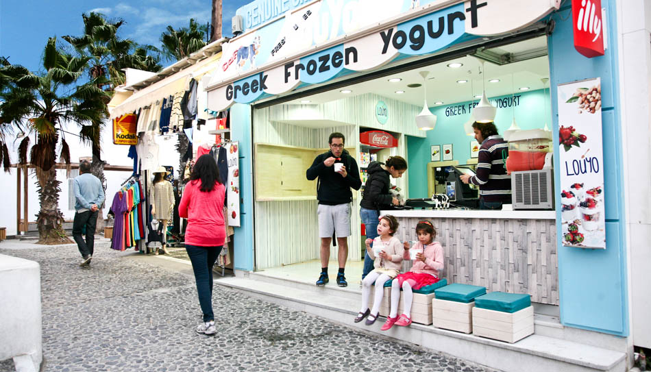 Louyo Greek Frozen Yogurt