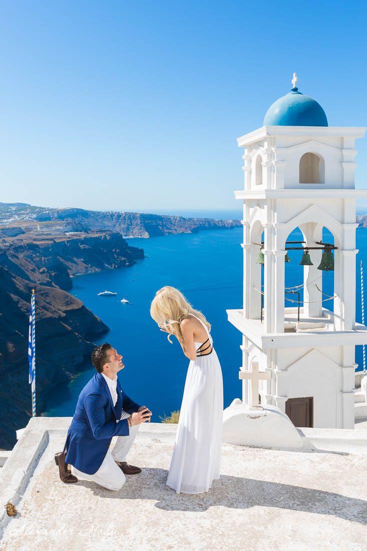 Love in Imerovigli, Santorini