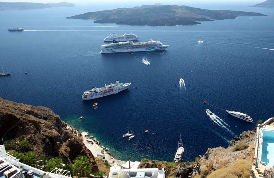 Santorini Island (Greece) cruise port
