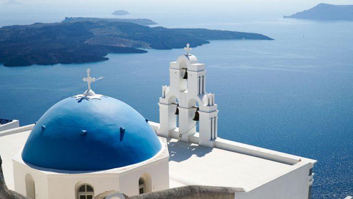 Santorini - paradise island of Greece