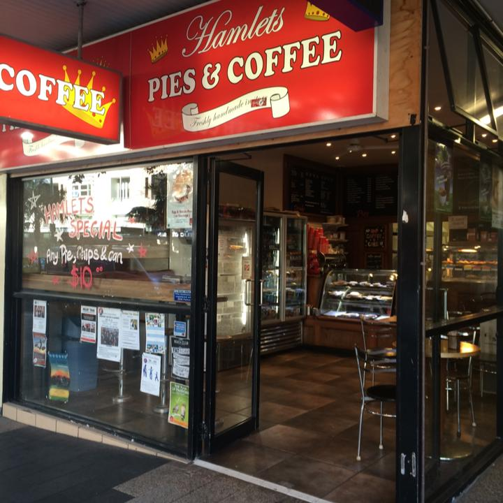 Hamlets pies Manly Corso