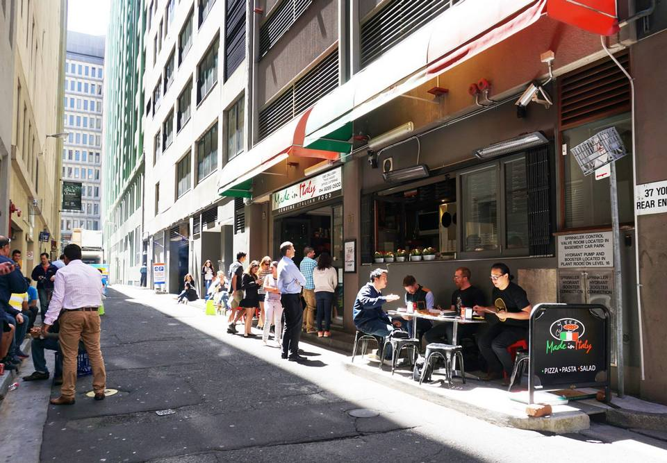 Made In Italy Sydney CBD