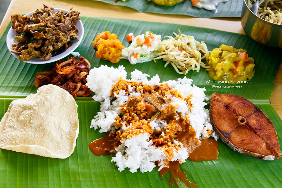 banana leaf food kl
