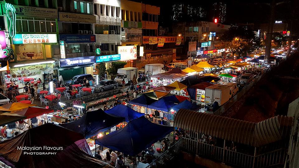 3Taman Connaught Night Market