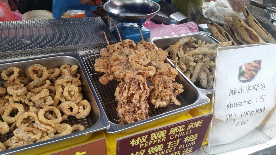 fried squid 1Sri Petaling Night Market