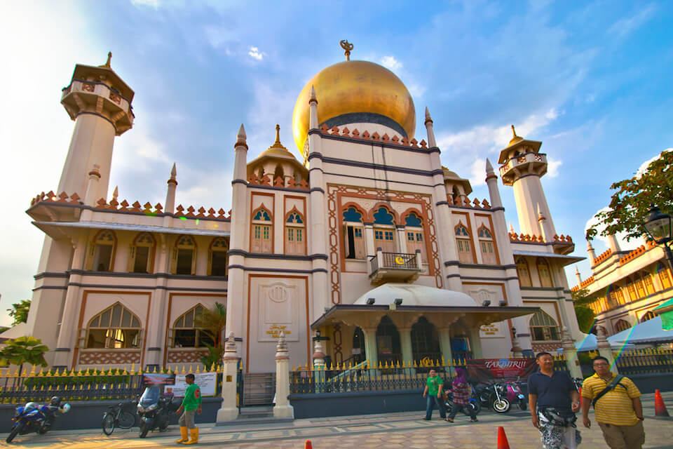 Bugis and Kampong Glam Singapore Picture: kampong glam places of interest blog.