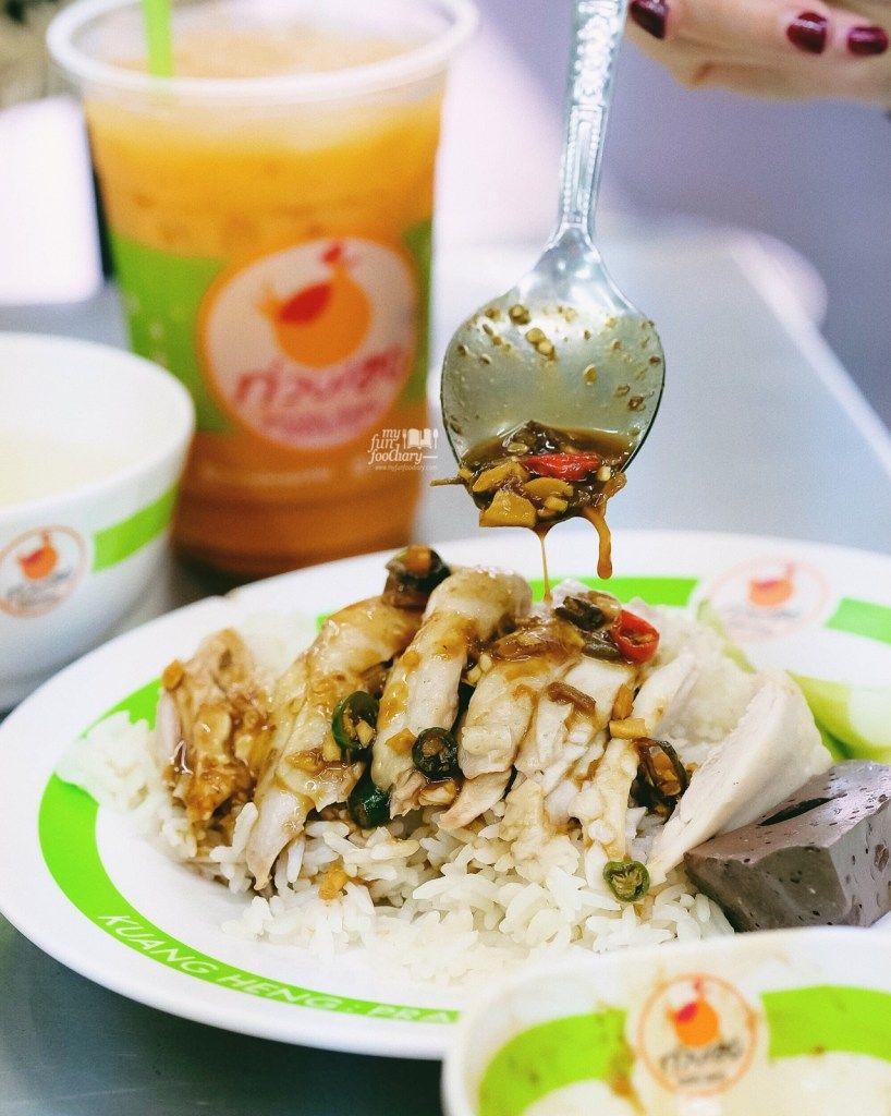 Go-Ang Kaomunkai Pratunam (Pratunam) chicken rice bangkok (1)
