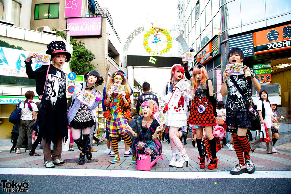 Experience uniquely Harajuku fashion