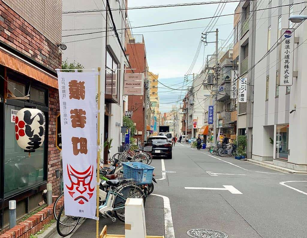 The idyllic streets also bring the Japanese charm in Asakusa.