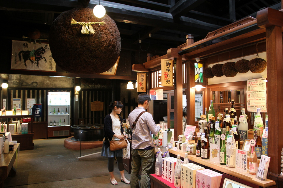 takayama sake brewery (1) Photo: japan suggested itinerary 10 days blog.