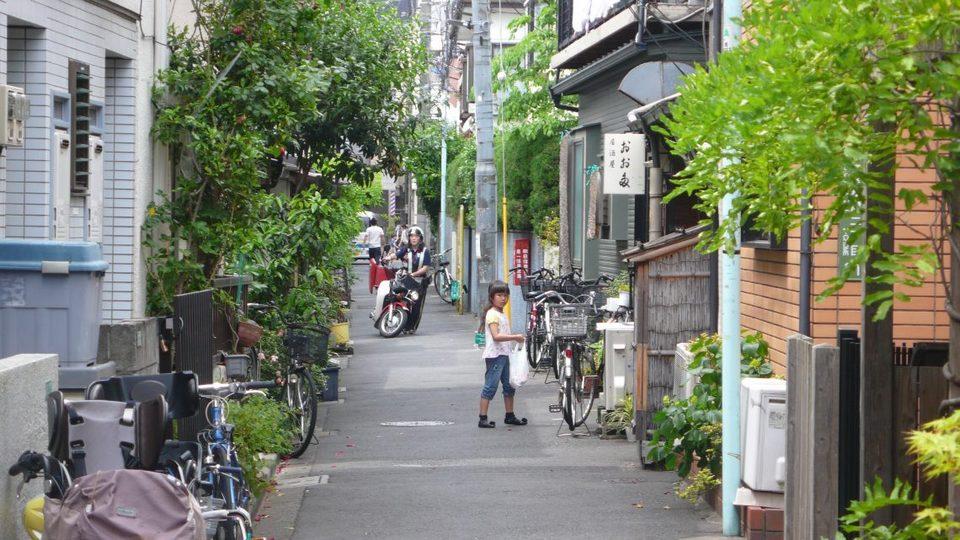yanaka street tokyo