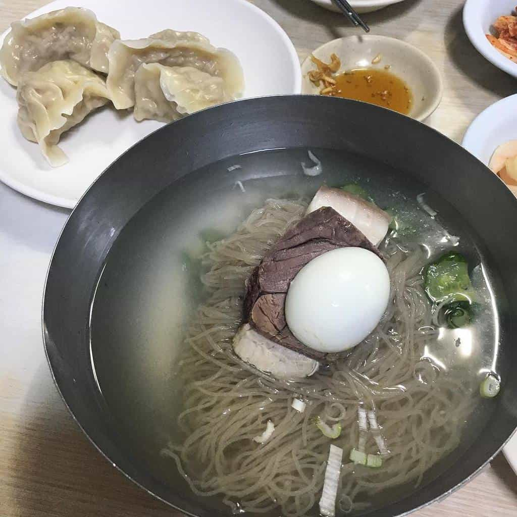 Sometimes all the elite end up in ... a bowl of cold noodles like this.