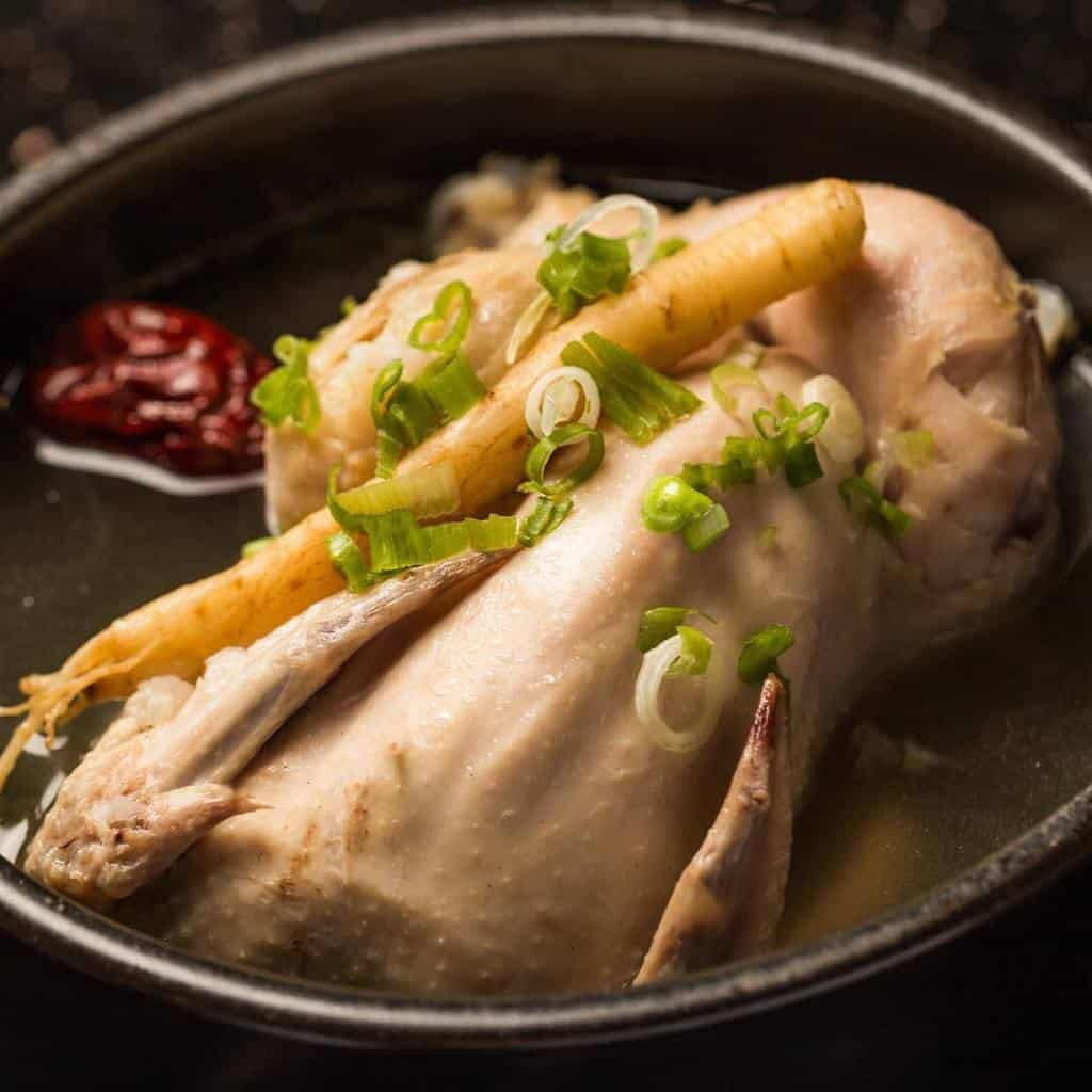 Samgyetang is both a nutritious food and a representative for Korean cuisine.