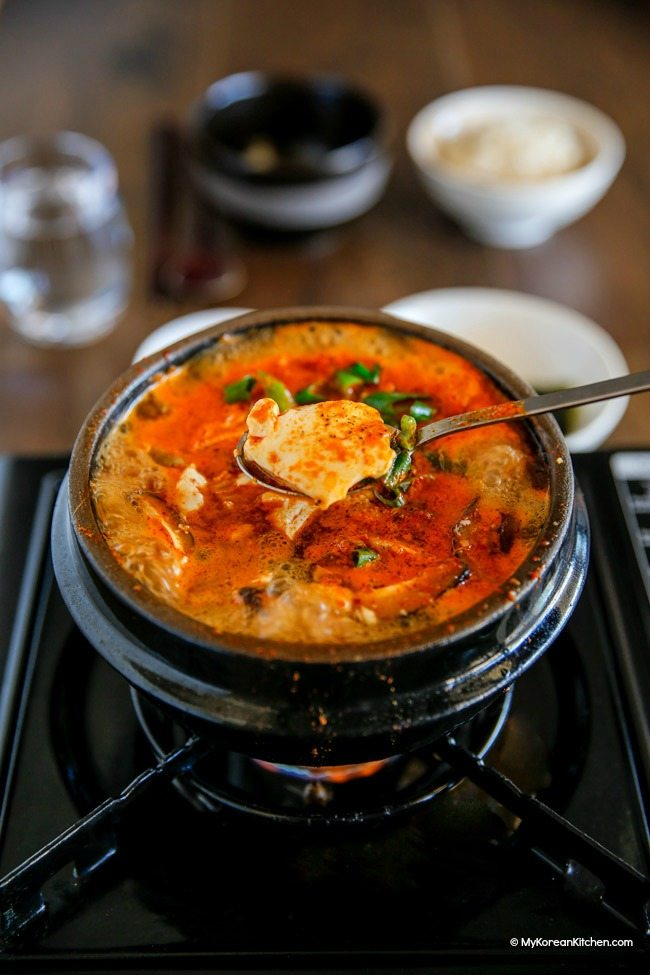 Sundubu-jjigae (Korean Spicy Soft Tofu Stew) (1)