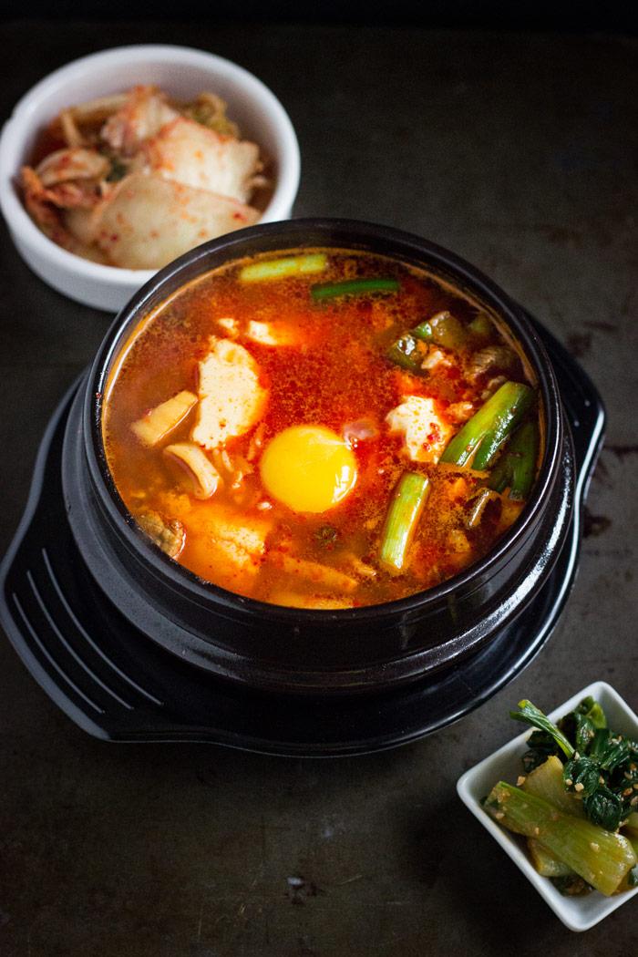 Sundubu-jjigae (Korean Spicy Soft Tofu Stew) (1)