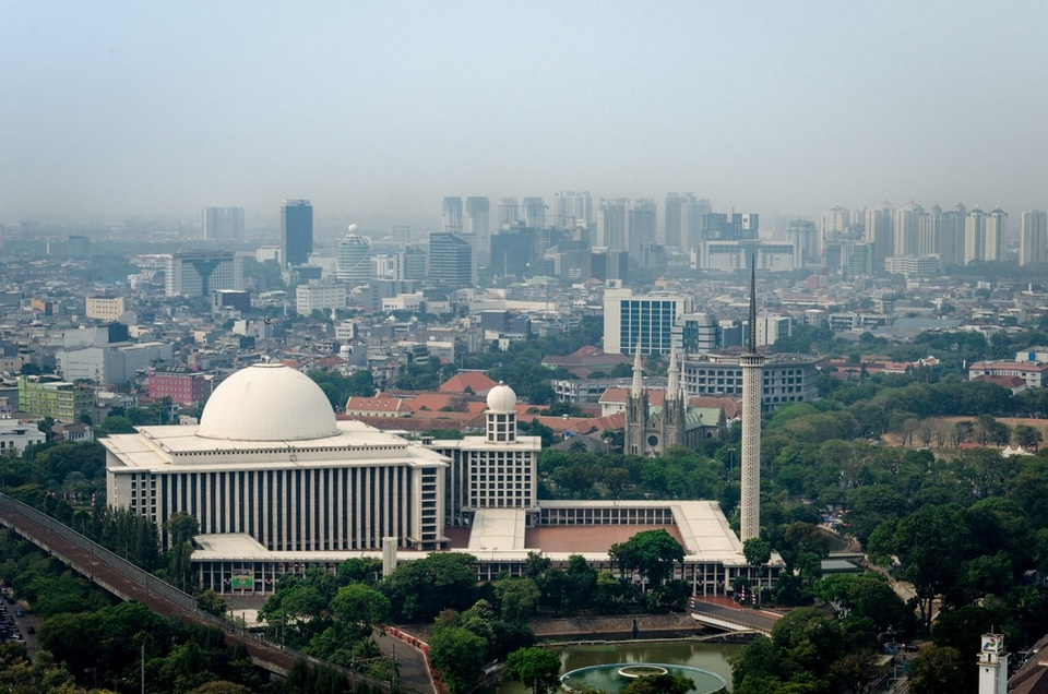 Istiqlal Mosque one day in jakarta, a day in jakarta jakarta itinerary 1 day, one day trip in jakarta