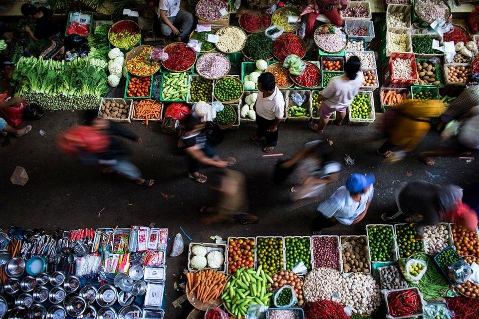 jarkarta market food