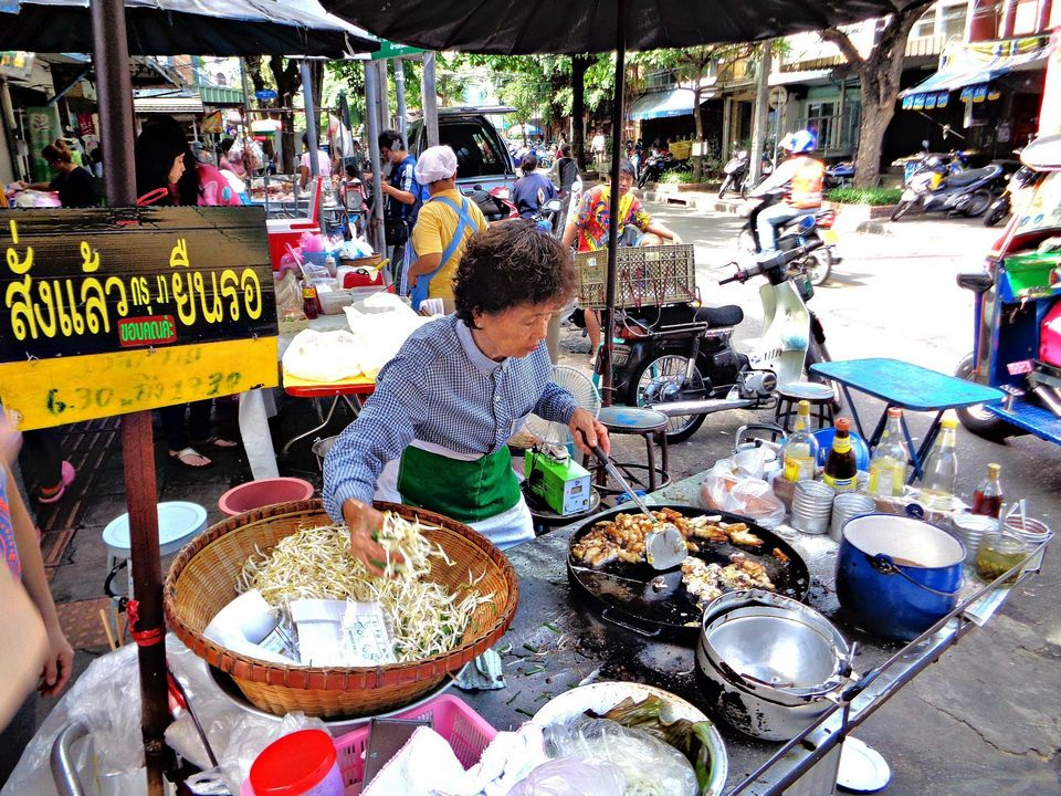 Sathorn street food