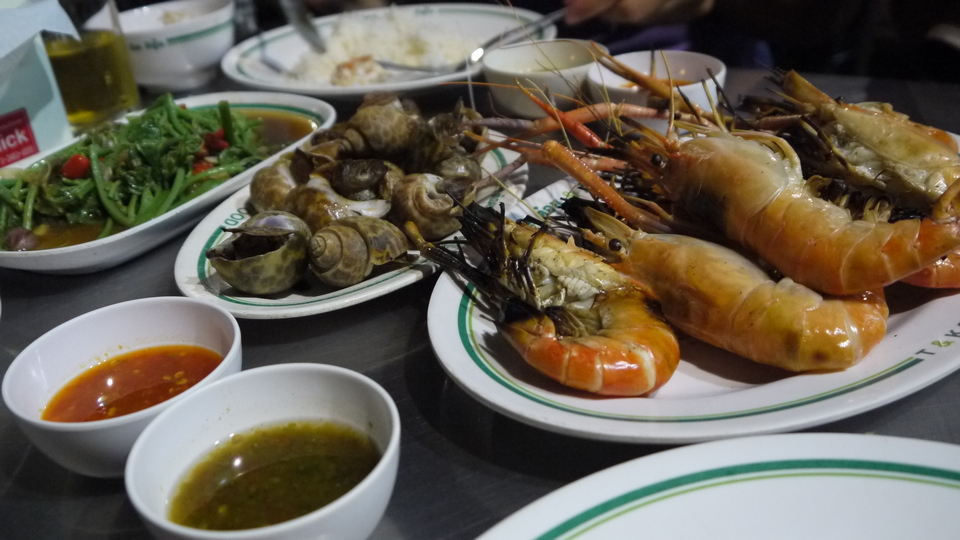 T & K Seafood chinatown