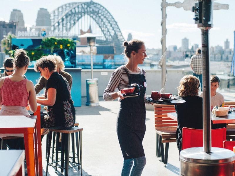 Museum of Contemporary Art Australia mca cafe