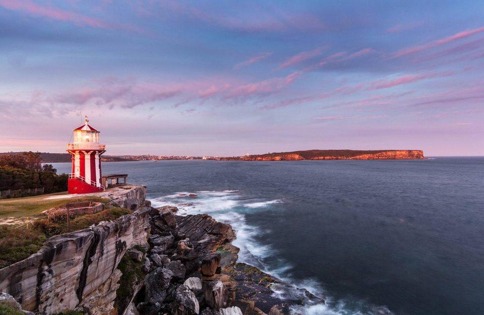 Sydney Harbour National Park Hornby lighthouse and South Head.1