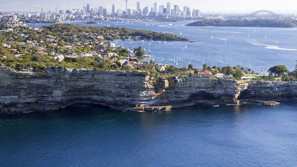 Sydney Harbour National Park Hornby lighthouse and South Head.1