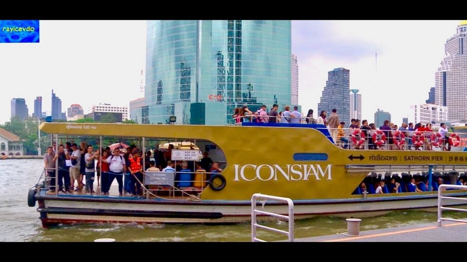 ICONSIAM FREE FERRY BOAT AND SHUTTLE BOATS TO SATHRON PIER