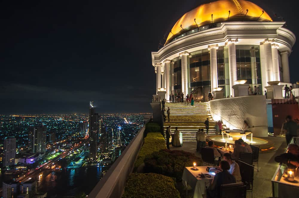 the dome lebua bangkok sky bar