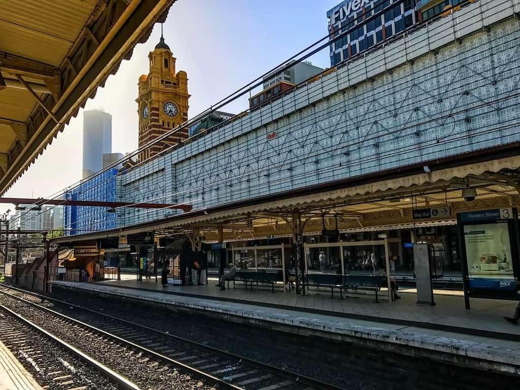 Flinders Street Railway Station melbourne australia