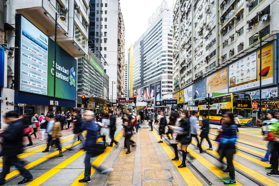 Central Hong Kong crossing