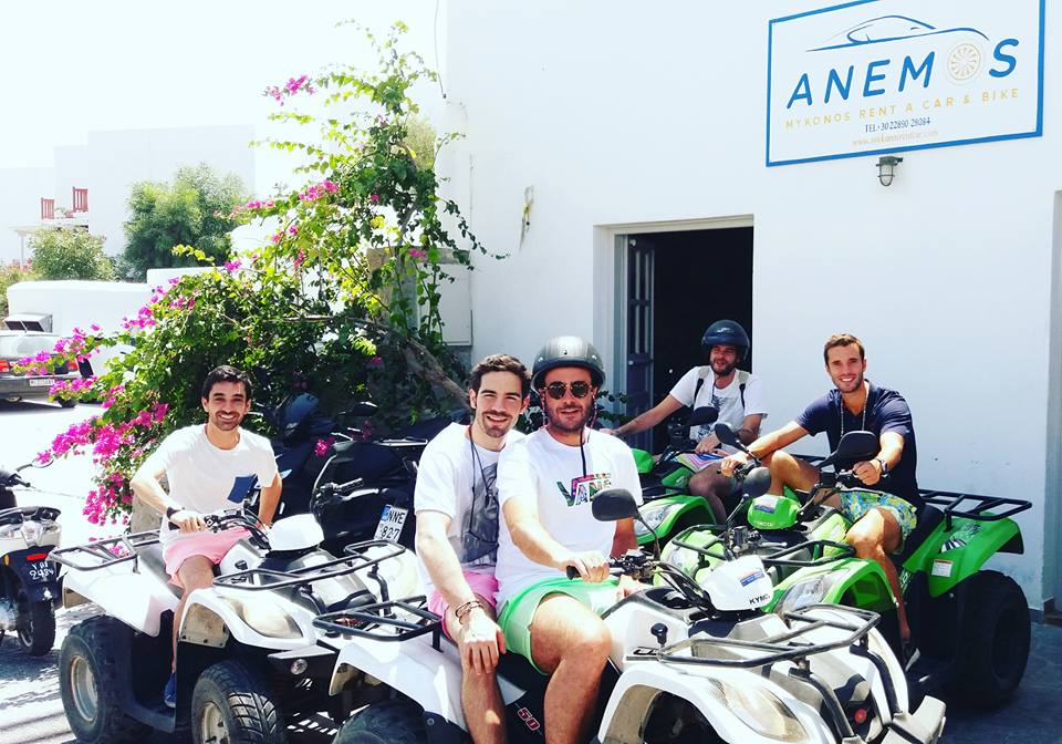 bike rental mykonos